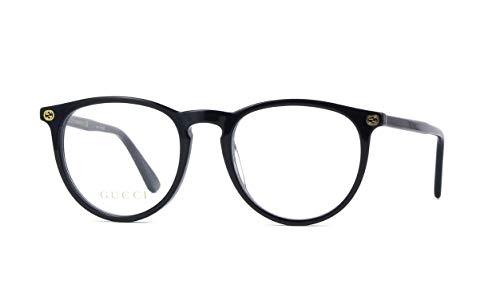 Gucci GG0027O Eyeglasses 001 Black 50mm (Gucci 50)