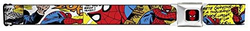 Spider-Man Marvel Comics Superhero Comic Panels Action Seatbelt Belt