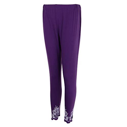 Tamaño de morado Fiestas Disfraces Pantalones de Fitness Noche de Sharplace Más Bachelorette IgCawxxq