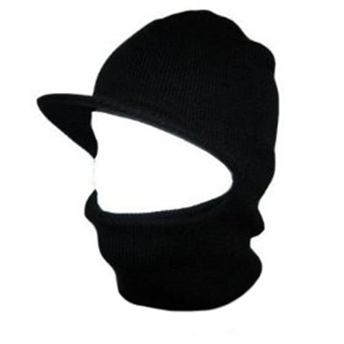 Visor Balaclava Face Mask Winter Beanie Ski Snowboard Hat Cap Wear