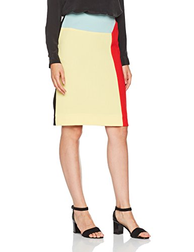 Multicolore Colour Jensen Peter colour Donna Skirt Gonna Block Block AHqfAFxZ