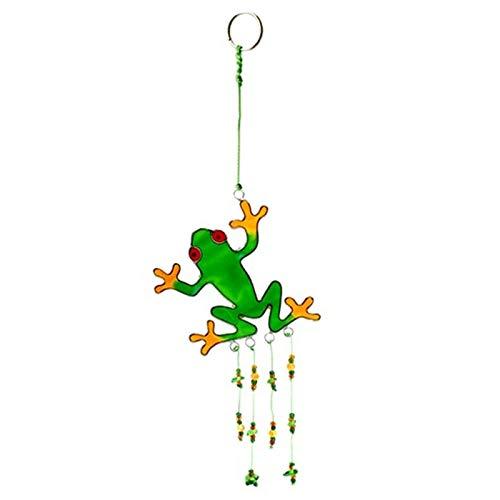 The Crabby Nook Green Frog Suncatcher Sun Catcher