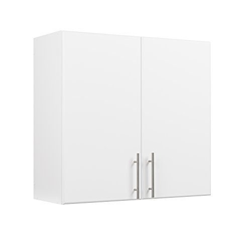 "Prepac WEW-3230 Elite Storage Cabinet, 32"" Wall, White"