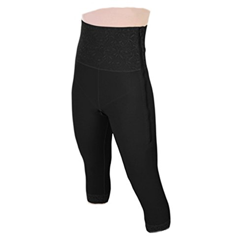 Contour Style 26 - Mid Calf Girdle 6in Waist (Small, Black) by ContourMD