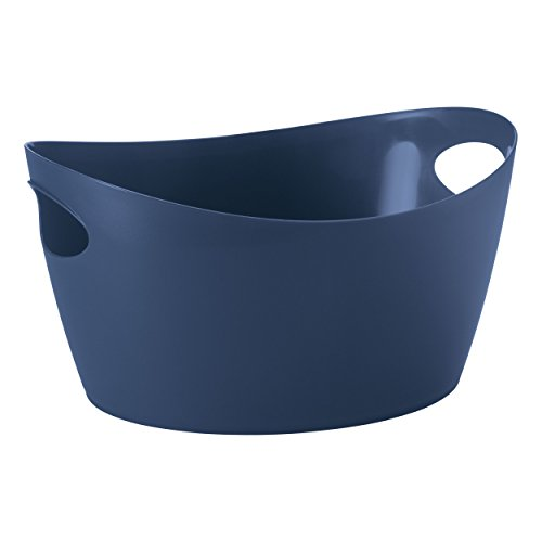 Koziol Washtub, thermoplastic, Deep Velvet Blue