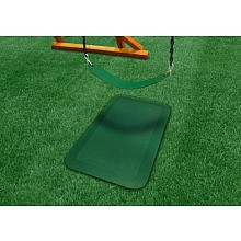 Gorilla Playset Accessories Protective Rubber Mat in Green - Set of 2