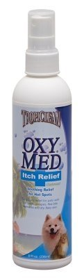 "TROPICLEAN - OXY-MED ANTI ITCH SPRAY (8 OZ) ""Ctg: DOG PRODUCTS - DOG GROOMING - MISC ITEMS"""
