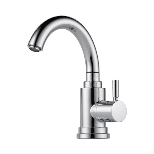 Brizo 61320LF-PC Euro Bar Faucet Single Handle Cold Water Only, (Loki Single Hole)