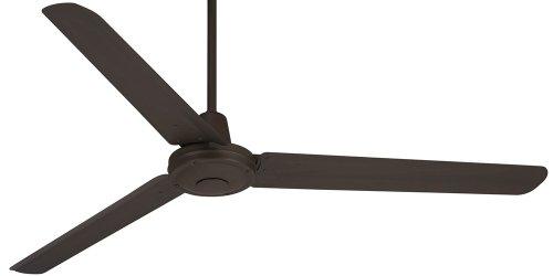 "60"" Casa Vieja Turbina Oil-Rubbed Bronze Metal Ceiling Fan"