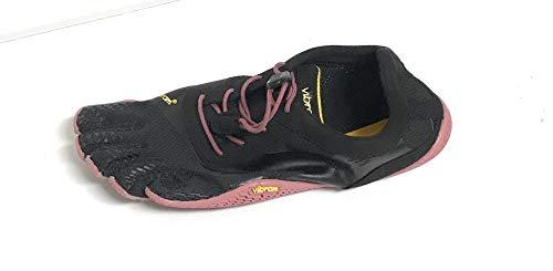 Vibram Women's KSO EVO Black/Rose Cross Trainer, 38 EU/7.5-8 M US