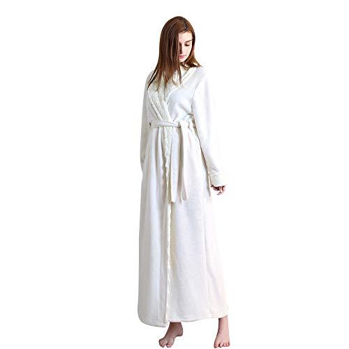 Flanella In Gray Cesto Accappatoio Per large Jycra Unisex X White A Accappatoio Scialle Adulti Collo qApRn4Hw