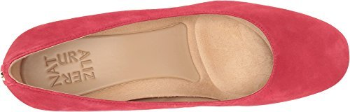 Red Suede Wedge (Naturalizer Women's Emily Wedge,Hot Sauce Suede,US 8.5 M)