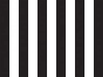 Black & White Stripes Tissue Paper 20 X 30 - 24 Sheet Pack by Premium Tissue Paper