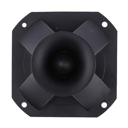 (Prettyia 10510550mm Piezo Horn Speaker Tweeter Loudspeaker Treble Replacement Square Speaker Parts)