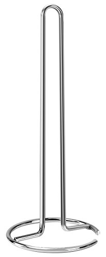 Premium Quality Paper Towel Holder – Metal Material with Chrome Finishing – Easy to Use – Space-Efficient – by Utopia Home