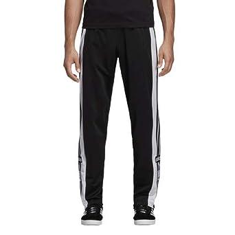 adidas Originals Men's Snap Pants Black XX Large 34 at