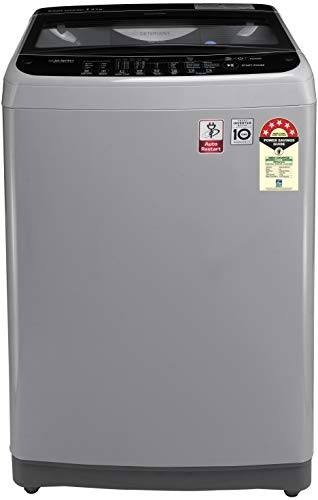 LG 7.0 Kg 5 Star Smart Inverter Fully-Automatic Top Loading Washing Machine (T70SJSF1Z, Middle free Silver, TurboDrum) 2021 June Fully-automatic Top load washing machine: Best Wash Quality, Energy and Water efficient Capacity 7.0 Kg: Suitable for large families Energy rating 5: Best in class efficiency