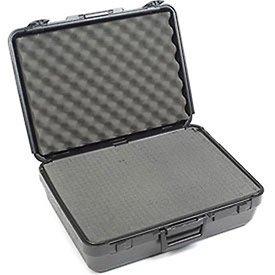 [해외]핀치 눈물 방울이있는 검은 색 플라스틱 보호용 보관 상자 19 x14 x6/Black Plastic Protective Storage Cases with Pinch Tear Foam 19 x14 x6
