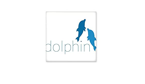Azulejos de cerámica con dos delfines para decoración de baño ...