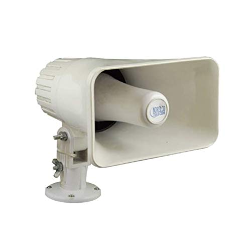 - NORELCO NTL-0403 INDOOR / OUTDOOR PAGING HORN WITH VOLUME CONTROL - 5 Watt Self Amplified