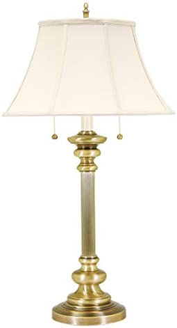 House Of Troy N651-AB Newport Collection Portable 30-1/4-Inch Table Lamp