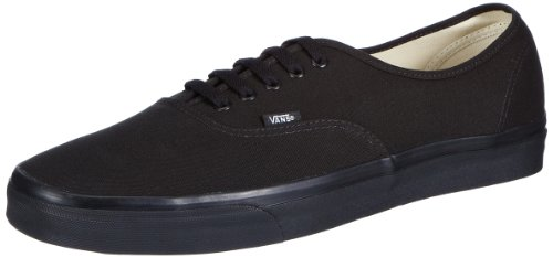Unisex Authentic Zapatillas Black Adulto Negro Black Vans 6vz8xqwq