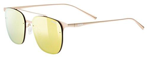 Uvex lgl 38Sport Gafas, unisex, color dorado, tamaño talla única dorado