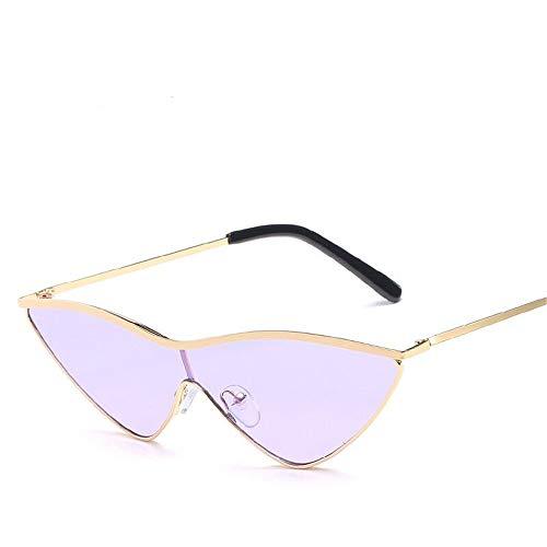 Gafas Hombre Gafas Espejo Cat Ligero Retro Unisex Sol de Púrpura Gafas Polarizadas Mujer Vintage Lente de Fliegend Súper Sol para UV400 Eye dXn6wUx4dq