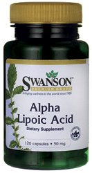 Swanson Alpha Lipoic Acid 50 mg 120 Caps