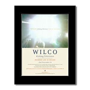 Wilco–Kicking Televisión mate Mini Póster de–28,5x 21cm