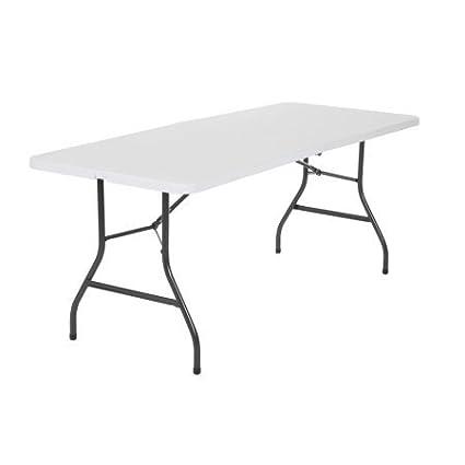 Amazon Com 6 Centerfold Table Multiple Colors White
