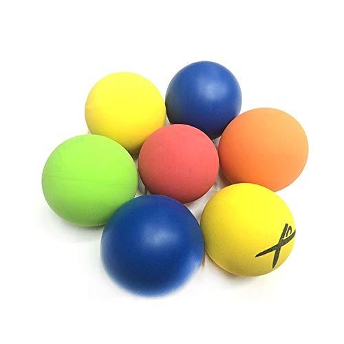 Huanglingkai para el Ejercicio American Standard hlk Racquetball de Goma de la Bola del Hueco 5,5 cm Color al Azar de Entrega Di/ámetro