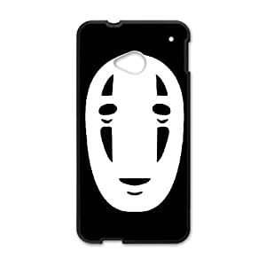 El viaje de Chihiro 005 HTC funda caja del teléfono celular Una M7 plástico funda funda caja del teléfono celular negro cubre ALILIZHIA05491
