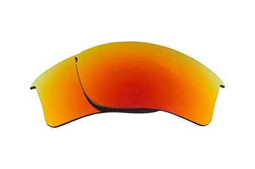 Best SEEK Replacement Lenses Oakley FLAK JACKET XLJ - Polarized Red by Seek Optics