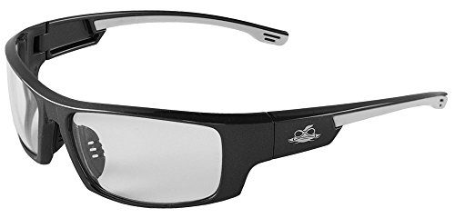 Bullhead Safety Eyewear BH991PFT Dorado, Shiny Pearl Gray Frame, Clear Performance Fog Technology Lens, Comfort-fit Rubber Temples and Nose Pieces (1 Pair)