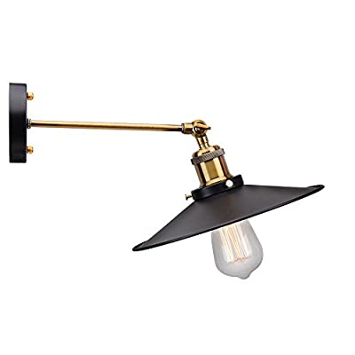 Nordic Retro Angle Adjustable 1 LIGHT Wall Lamps American Country Style Creative Design Sconces Industrial Warehouse Restaurant Cafe Hallway Wall Lamps