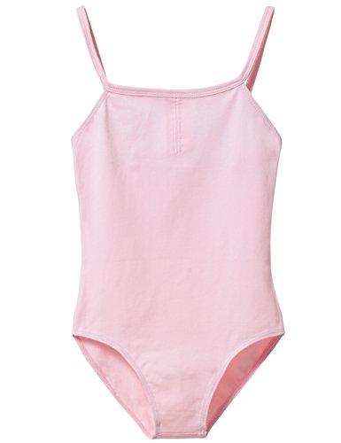 Ballet Leotard Little Girls Adjustable Strap (Age 4-6, Ballet Pink)