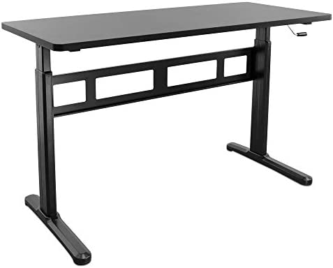 Mount-It Height Adjustable Manual Standing Desk