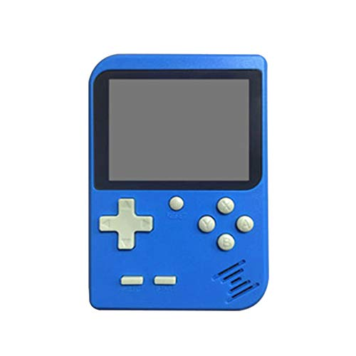 Cywulin Retro Mini Handheld Video Game Console Player Gameboy Built-in 168 Classic Games Travel Portable Gaming System Electronics Machines 2.8 Inch Support TV Play Present for Boy Kids Adult (Blue)