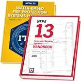 2016 NFPA 13 Handbook and 2014 NFPA 25 Handbook Set