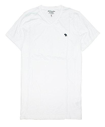 abercrombie-fitch-mens-crew-or-v-neck-plain-basic-t-shirt-af05-x-large-v-neck-white