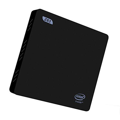 Plater Beelink Z83 Mini PC Desktop Windows 10 OS Intel Atom Cherry Trail x5-Z8300 2GB/32GB Gigabit Ethernet 2.4/5.8G Wi-Fi BT 4.0 Streaming Media Player