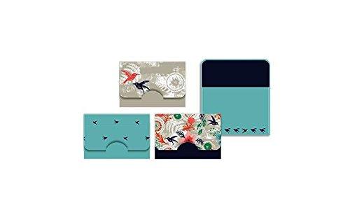 Morning Dew Hummingbird 6 x 4 Tin Box and Paper Notecard Stationary Set