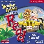 READER RABBIT I CAN READ WITH PHONICS JC