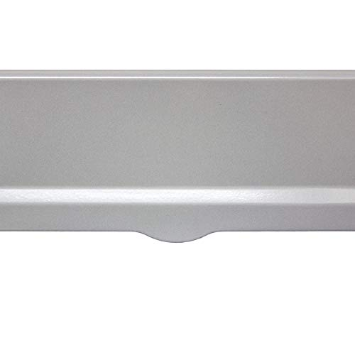 Qualarc Letter Plate for Liberty Chute in Silver Finish