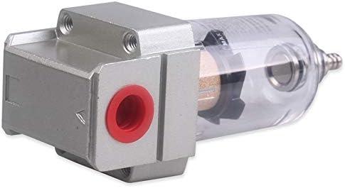 Cikuso Druckluft Filter Wasserabscheider Olabscheider Inklusive Schnellkupplung 1//4 Zoll