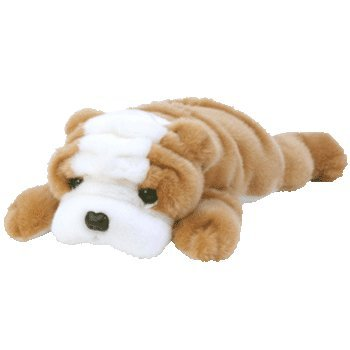 TY Wrinkles the Dog Beanie Buddy 12