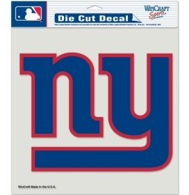WinCraft NFL New York Giants Die-Cut Color Decal, 8