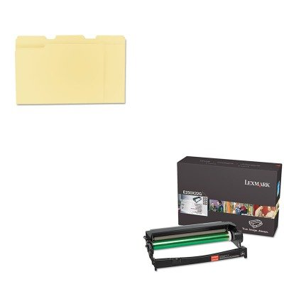 (KITLEXE250X22GUNV12113 - Value Kit - Lexmark E250X22G Photoconductor Kit (LEXE250X22G) and Universal File Folders)