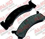 AL-KO DISK BRAKE PAD KIT FOR 10-12K AXLES- 1 WHEEL